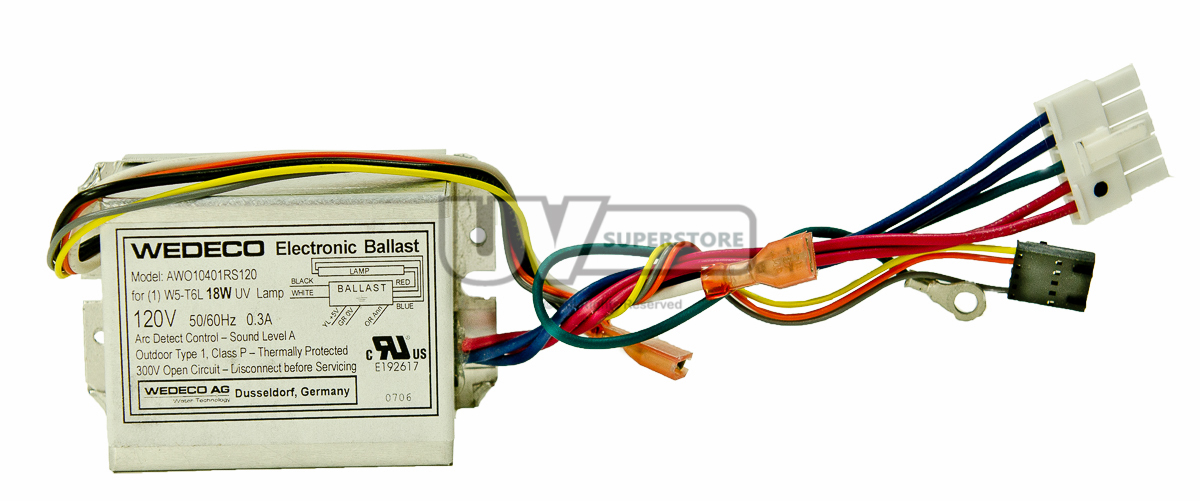 Aq36926 Replacement Electronic Ballast 120v 50 60hz Uv