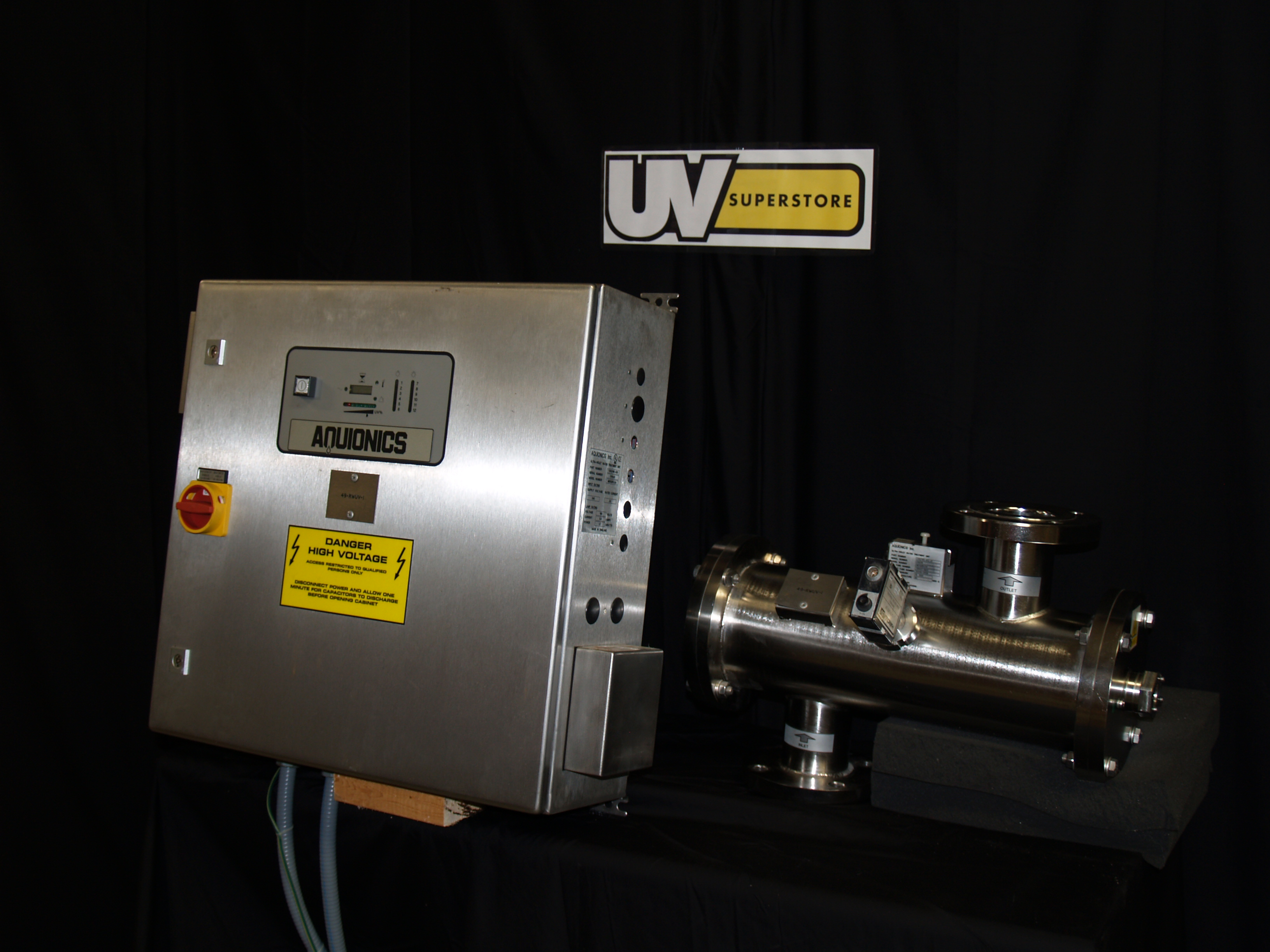 Mb150r1 3a Used Uv Water Treatment System Uv Superstore